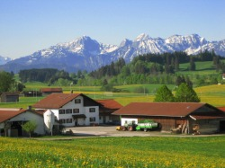Fr&uuml;hlingsspass im Allg&auml;u