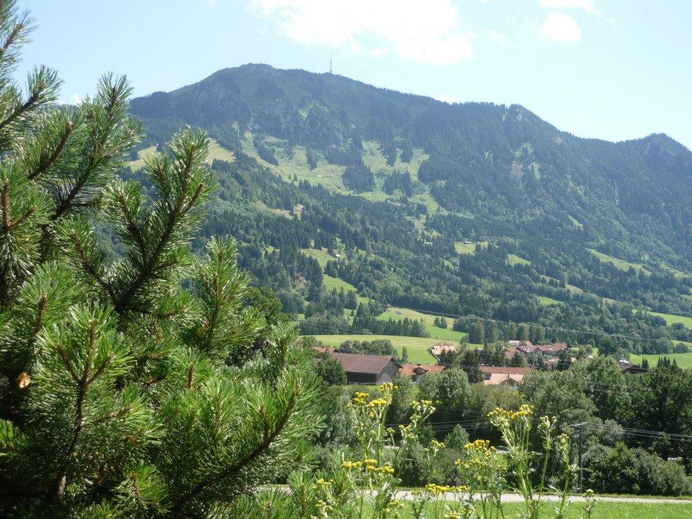 Urlaub über den Dächern von Rettenberg