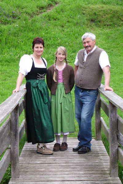 Andrea & Reinhold mit Johanna