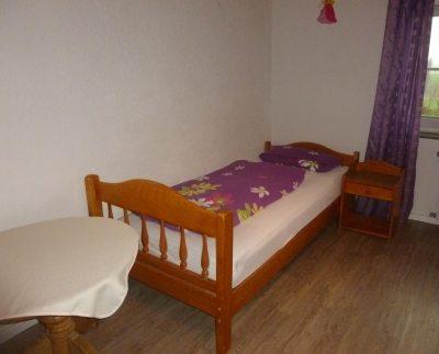 Schlafzimmer Flieder