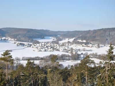 Biberbach im Winter