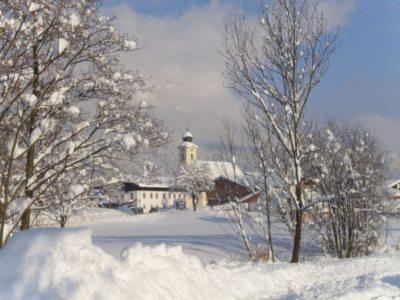 Schleching im Winter..