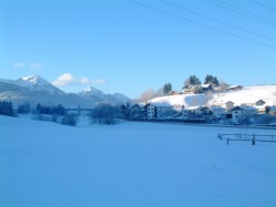 Hochgallinger Hof im Winter