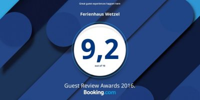 Gästebeurteilung Booking.com 2016