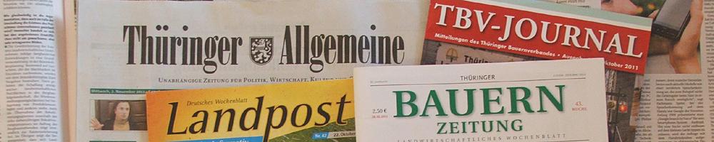 Presse (© LAG Thüringen )