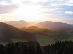 Hnersedel im Sdschwarzwald