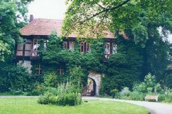 Gutshof und Herrenhaus