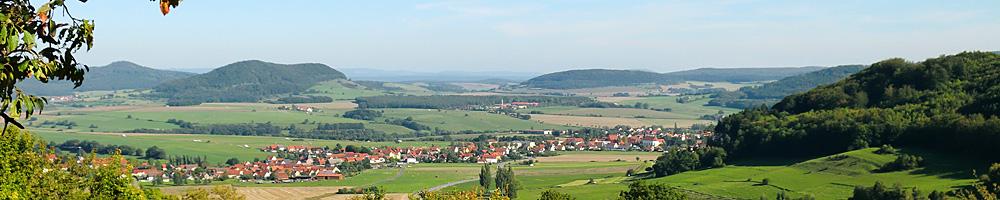 Blick vom Emberg (© Rhönforum e. V. )