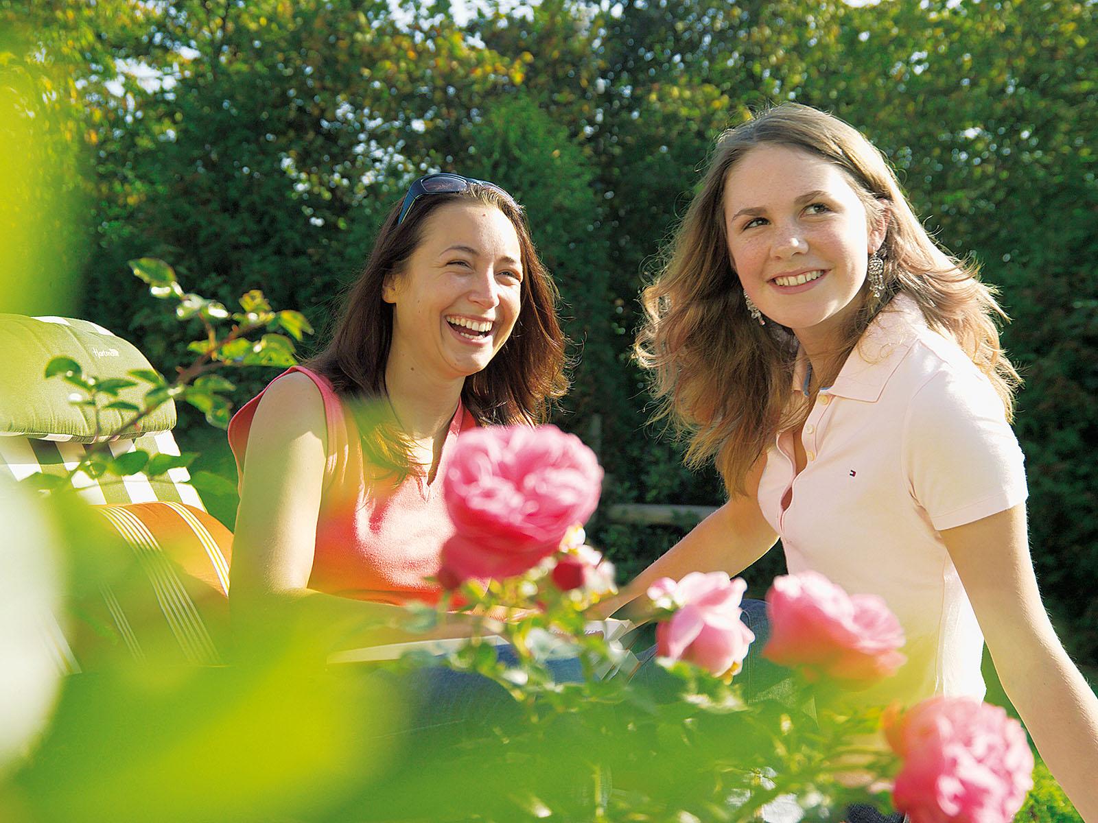 Blumenpracht im Bauerngarten