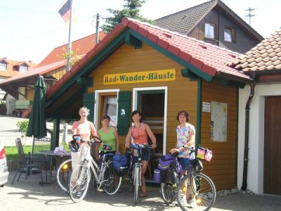Radwanderhaeuschen