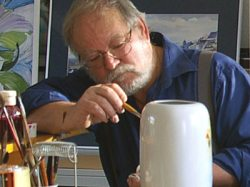 Thringen-Atelier - Gerhard Nussmann Kreativer Landurlaub: der Knstler, Thringen-Atelier - Gerhard Nussmann