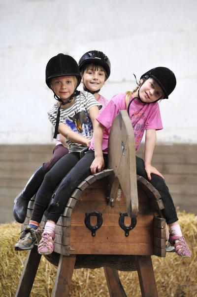 Reiterspaß für Kinder (© LAG Thüringen : Barbara Neumann )
