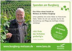 Spendenaufruf Burgberg Meißen