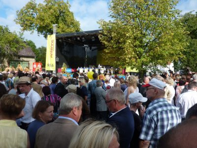 Brandenburger Dorf- und Erntefest in Dissen 2011-5: pro agro e.V.