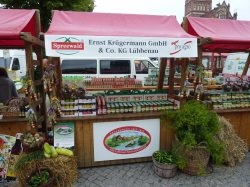 2010 Kruegermann Gurken am pro agro Stand: team red : pro agro e.V.