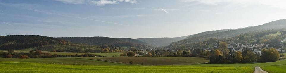Felder und Wiesen im Odenwald (© LAG Hessen : Silas Koch )
