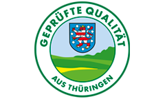 Logo Geprfte Qualitt aus Thringen