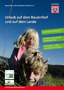 Urlaubskatalog Urlaub auf dem Bauernhof und auf dem Lande in Hessen