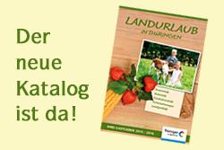 Neuer Katalog 2015 (© LAG Thüringen )