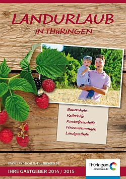 Katalog Landurlaub in Thüringen (© LAG Thüringen )