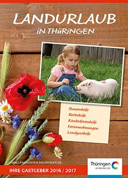 Katalog Landurlaub in Thüringen