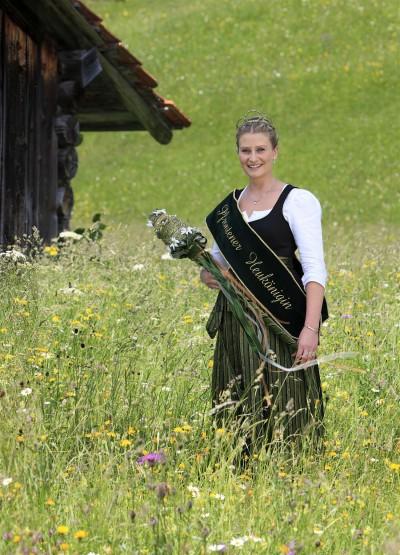 Heukoenigin Susanne (© Pfronten Tourismus/ E. Reiter : Pfronten Tourismus/ E. Reiter )