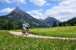 Radeln durchs Pfrontener Tal Wer nicht laufen m�chte, soll Rad fahren. Bringen Sie sich in Schwung