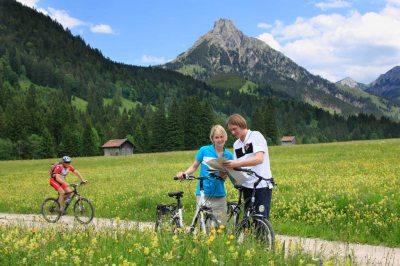 Radeln durchs Pfrontener Tal (© Pfronten Tourismus/ E. Reiter : Pfronten Tourismus/ E. Reiter )
