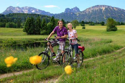 Radeln im Pfrontener Tal (© Pfronten Tourismus/ E. Reiter : Pfronten Tourismus/ E. Reiter )