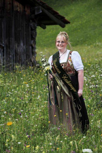 Heukönigin Michaela I. (© Pfronten Tourismus/ E. Reiter : Pfronten Tourismus/ E. Reiter )