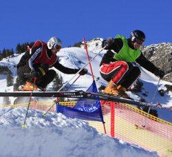 Skicrossrennen