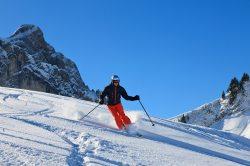 Skifahren auf dem Breitenberg