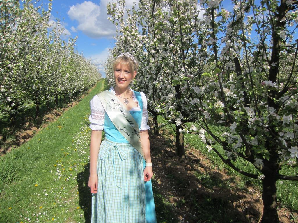 Odenwälder Apfelkönigin Jana I.