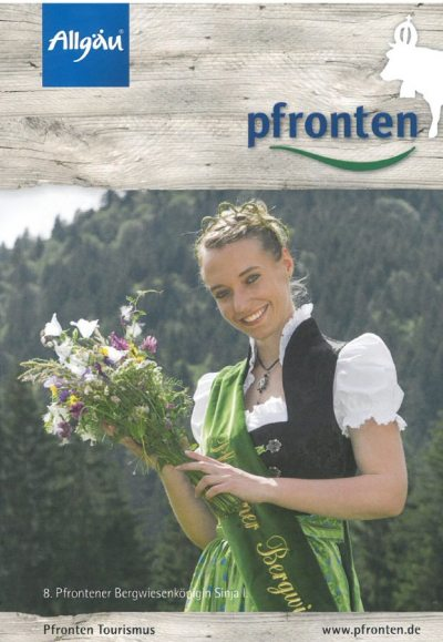 Bergwiesenkönigin Sinja (© Pfronten Tourismus/ E. Reiter : Pfronten Tourismus/ E. Reiter )