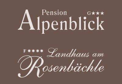 Pension Alpenblick und Landhaus am Rosenbächle