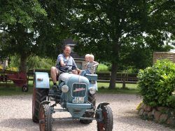 Oldtimer mit Kinder