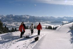 Winterwandern in Blaichach