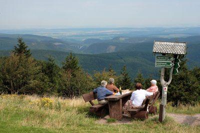 Herrliche Aussichten im Thüringer Wald
