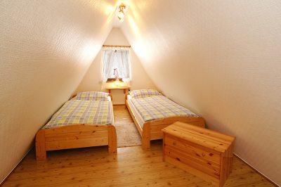 Schlafraum Finnhütte