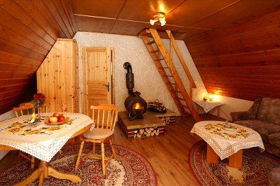 Wohnraum Finnhütte