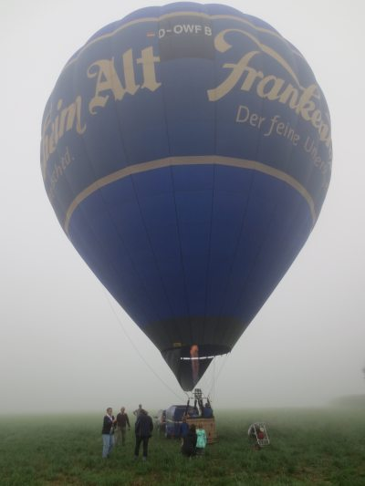 Ballonfahrt ab dem Enkenshof