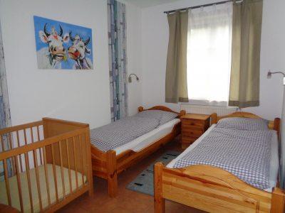 Kornblume, Schlafzimmer