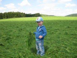 Bauernhof erleben - dabei sein, anfassen, mitmachen