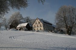 Unser Bauernhof im Winter