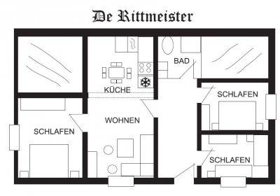 De Rittmeister: Grundriss