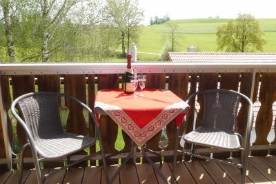 Balkon Kornspeicher