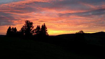 Sonnenuntergang Aigis
