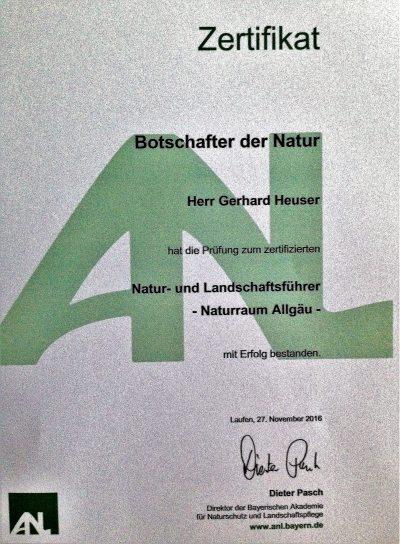 Natur und Landschaftsführer