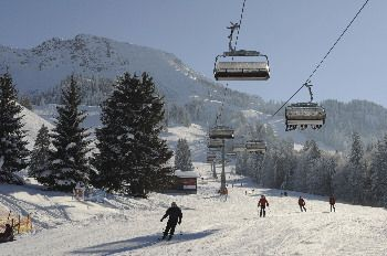 Iselerlift im Skigebiet