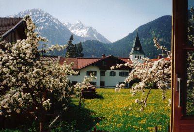 Bad Oberdorf im Frühling